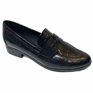 Aldo Langlet Loafer Crocodile Black
